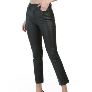 7 FOR ALL MANKIND  Genuine Leather Pants